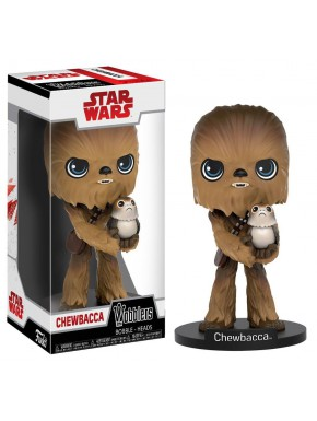 Funko Wacky Wobbler Chewbacca Episodio VIII Star Wars