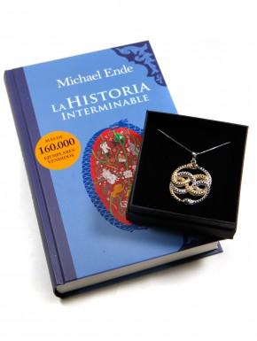 Pack Historia Interminable libro y Auryn