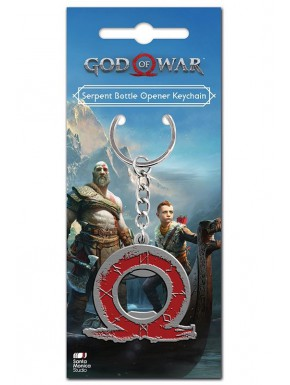 Llavero Abrebotellas God of War Logo