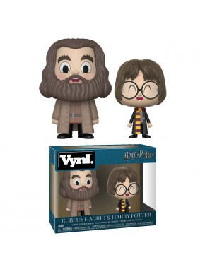 Set Figuras Harry Potter & Hagrid Funko VYNL