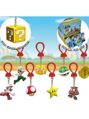 Figura Colgante Sorpresa Super Mario Bros Series 2