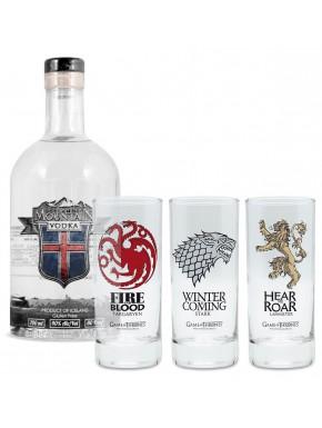Pack Juego de Tronos Vodka