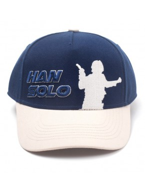Gorra Beisbol Star Wars Han Solo Silueta