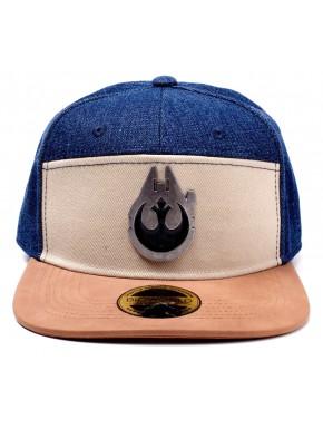 Gorra Beisbol Star Wars Halcón Milenario y Alianza Rebelde