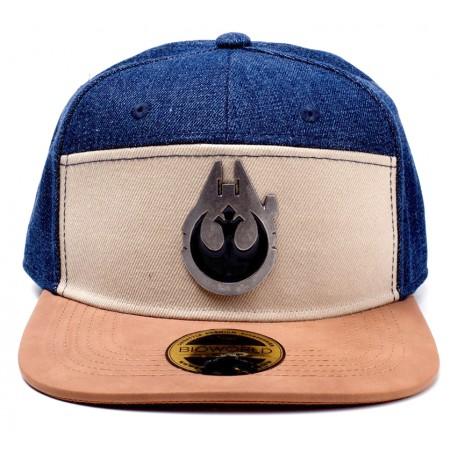 Gorra Beisbol Star Wars Halcón Milenario y Alianza Rebelde e852fc76c9a