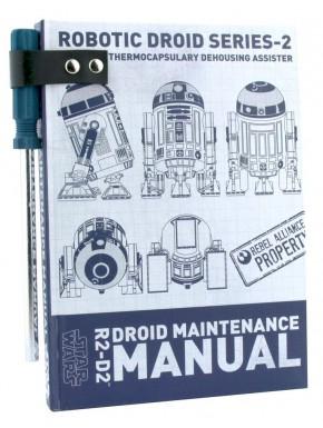 Libreta + Boli Star Wars R2D2 Manual de Mantenimiento