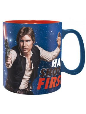 Taza Han Solo Star Wars Han Shot First