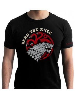 Camiseta Juego de Tronos Stark y Targaryen Bend The Knee