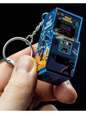 Llavero 3D Arcade Space Invaders