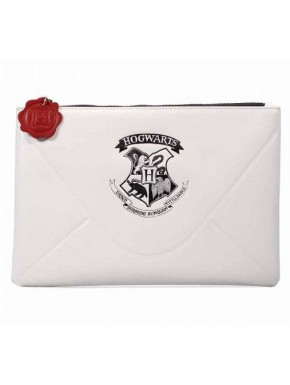 Bolso Pounch Hogwarts Letter Harry Potter Blanco
