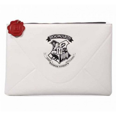 Bolso Pounch Hogwarts Letter Harry Potter Blanco