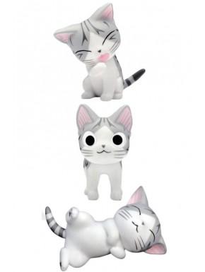Set 3 Mini Figuras El Dulce Hogar de Chi 4 cm
