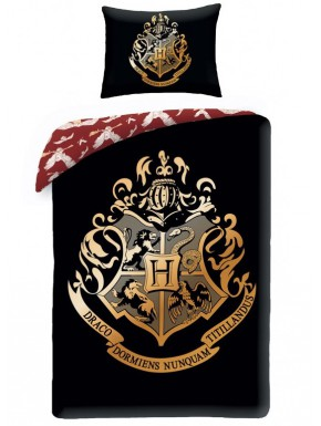 Funda Nórdica Hogwarts Harry Potter Black