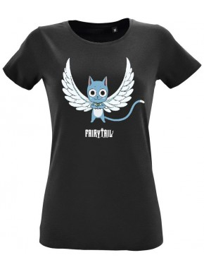 Camiseta Chica Fairy Tail Happy Wings