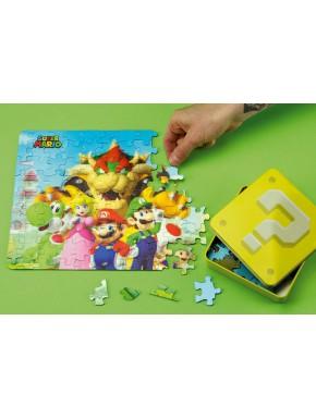 Puzzle 3D Super Mario 112 Piezas Bloque Interrogante