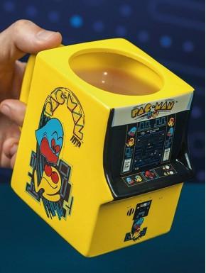 Taza 3D Pac-Man Máquina Arcade
