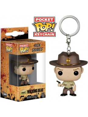 Llavero mini Funko Pop! Rick Grimes Walking Dead