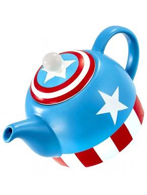 Tetera Capitán América Marvel