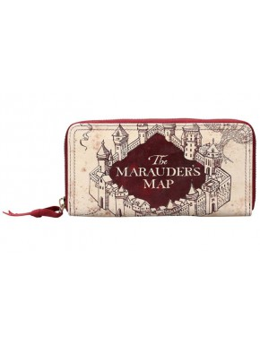 Cartera Billetera Harry Potter Mapa del Merodeador