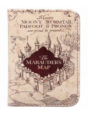 Cartera Portadocumentos Harry Potter Mapa del Merodeador