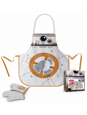 Star Wars delantal y manopla BB-8