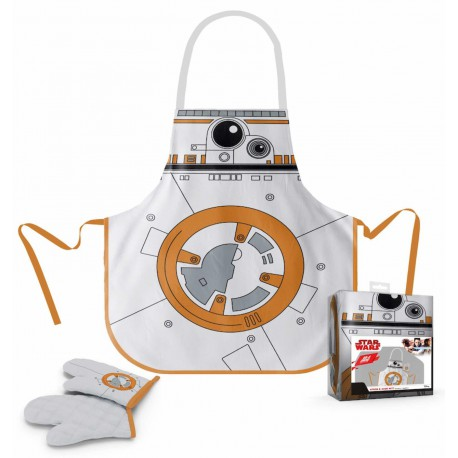 Star Wars delantal y manopla BB-8