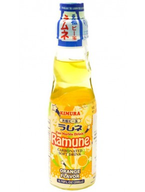 Ramune sabor Naranja Refresco 200 ml