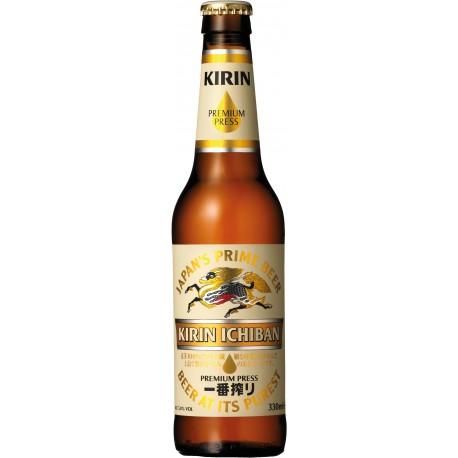 Cerveza Japonesa Kirin Ichiban 33 cl