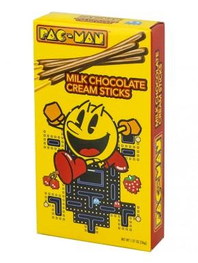 Snack Pac-Man Sticks con chocolate