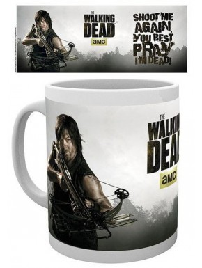 Taza Walking Dead Daryl Dixon Shoot Me