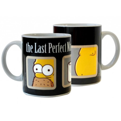 Taza Los Simpson The Last Perfect Man