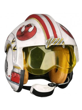 Réplica Casco Piloto Rebelde Luke Skywalker Star Wars Escala 1:1