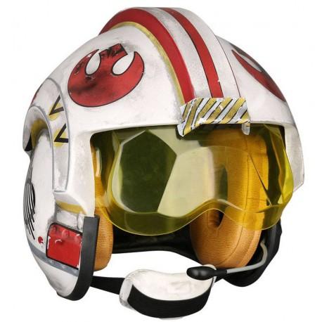 Réplica Casco Piloto Rebelde Luke Skywalker Star Wars Escala 1:1