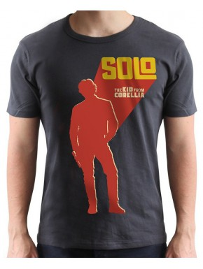 Camiseta Han Solo Star Wars Kid from Corelia
