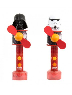 Dispensador de caramelos ventilador Star Wars Vader & Trooper