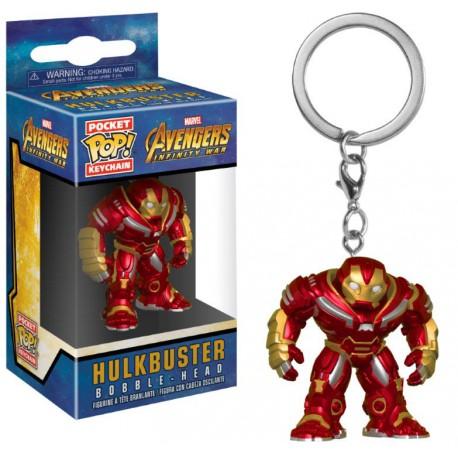 Llavero mini Funko Pop! Hulkbuster Avengers Infinity War