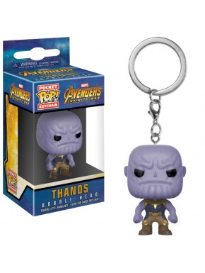 Llavero mini Funko Pop! Thanos Avengers Infinity War