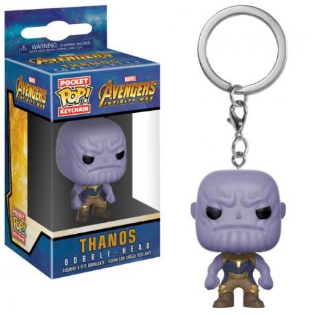 Llavero mini Funko Pop! Thanos Avengers Infinity War