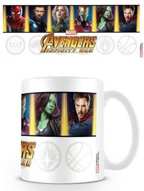 Taza Vengadores Infinity War Marvel
