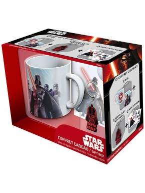 Pack regalo Darth Vader Taza + Llavero + Stickers