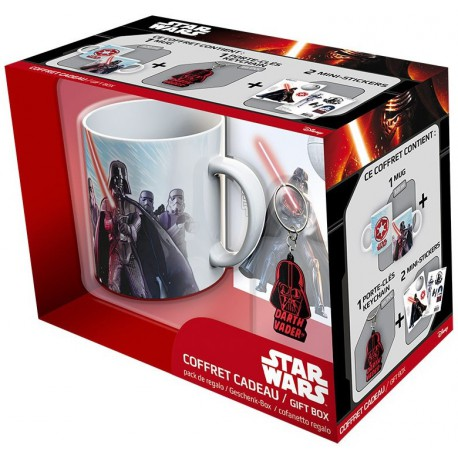 Pack regalo Darth Vader Taza + Llavero + Stickers