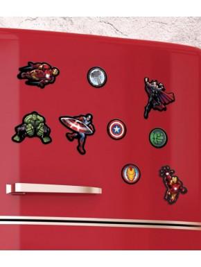 Set de imanes Avengers Marvel