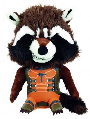 Peluche con sonido Rocket Raccoon Guardianes de la Galaxia 24 cm