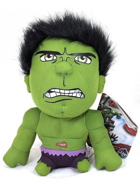 Peluche con sonido Hulk Avengers Marvel 24 cm