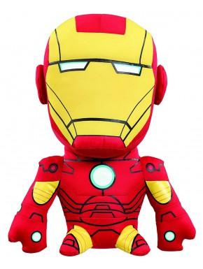 Peluche con sonido Iron Man Avengers Marvel 24 cm