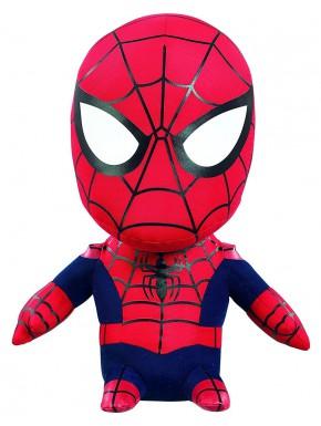 Peluche con sonido Spider-Man Avengers Marvel 24 cm