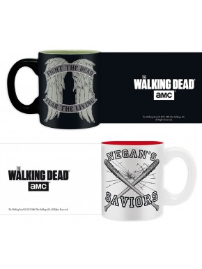 Set 2 mini tazas The Walking Dead