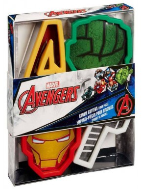 Molde Cortador Galletas Avengers Marvel
