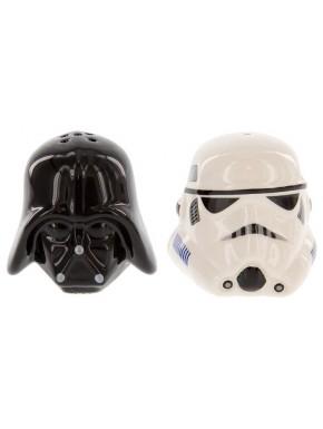 Salero y Pimentero cascos Vader y Stormtrooper
