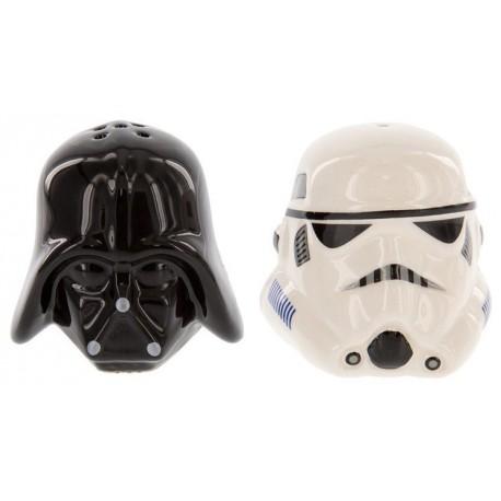 Salero y Pimentero de Vader y Stortrooper